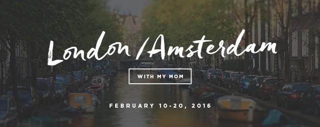 London | Amsterdam 2016