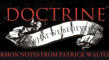 Doctrine Sermon Series