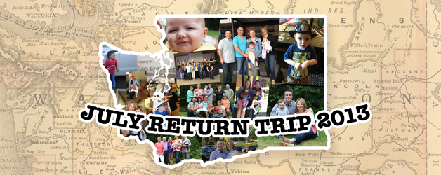 July Return Trip 2013