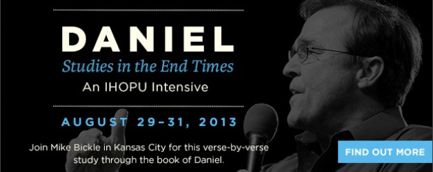 IHOPU Daniel Intensive August 29th-31st