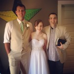 Willy, Lisa and Patrick prior to their wedding!