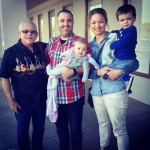 Our family with Grandpa at IHOPKC