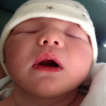Anna Claire Sleeping.