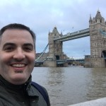 Me at the London bridge