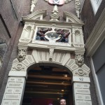 A really old building in Amsterdam