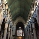 In a beautiful Church building in Kensington London
