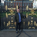 At the gates of the Kensington Palace